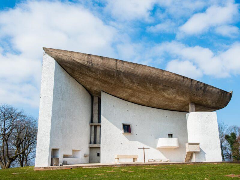 Notre Dame du Haut by Le Corbusier, Ronchamp