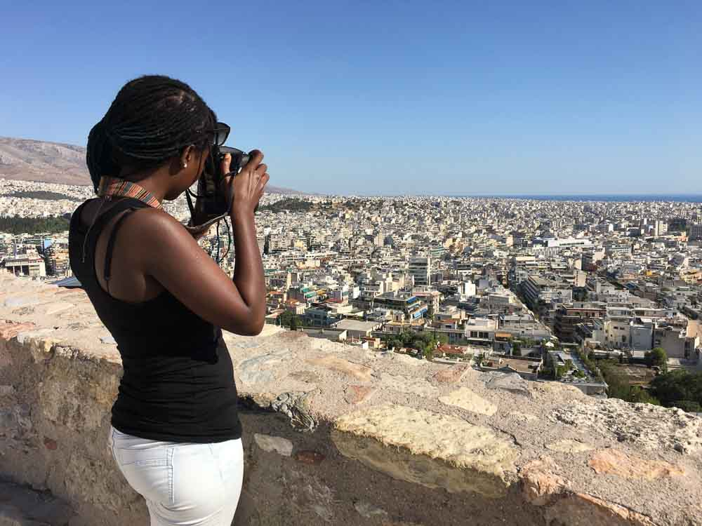 Photographing the Cityscape of Athens