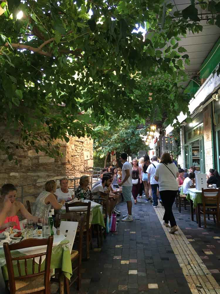 Restaurant in the City of Athens