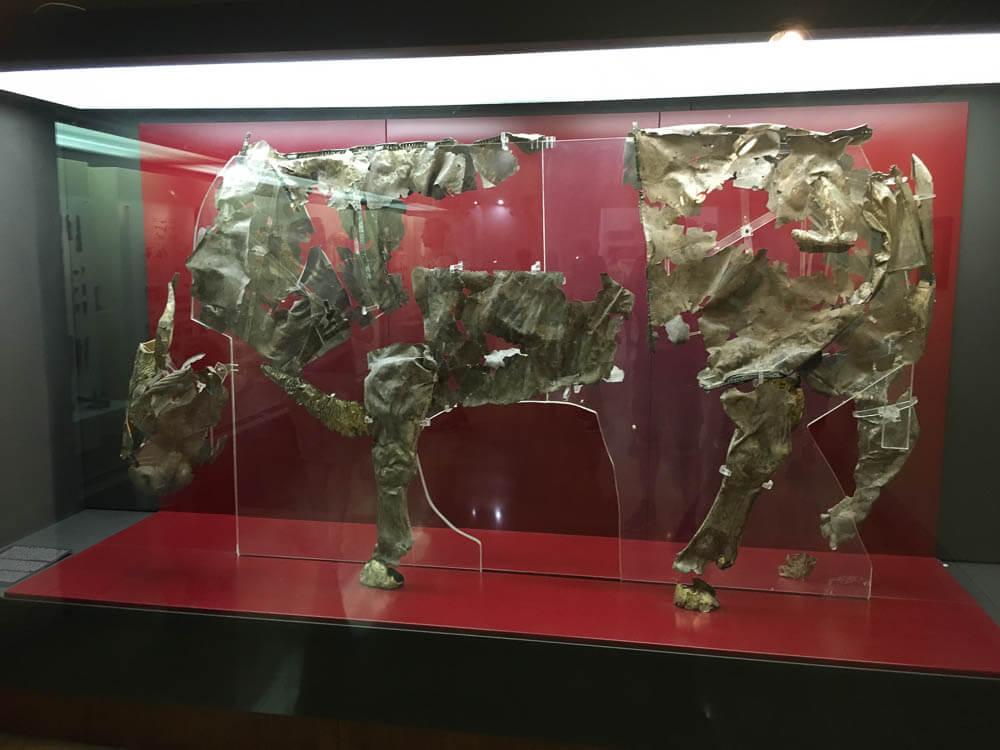 Golden Bull in the Delphi Museum