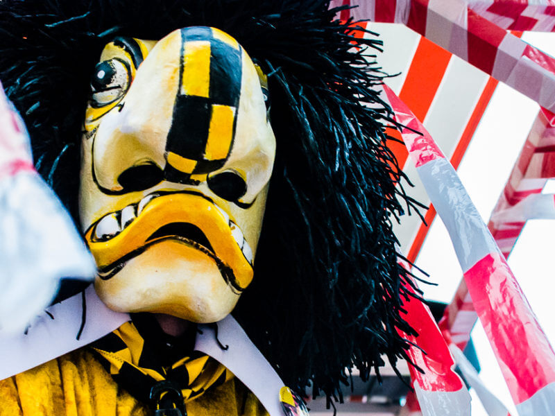 Waggis from Basel Fasnacht