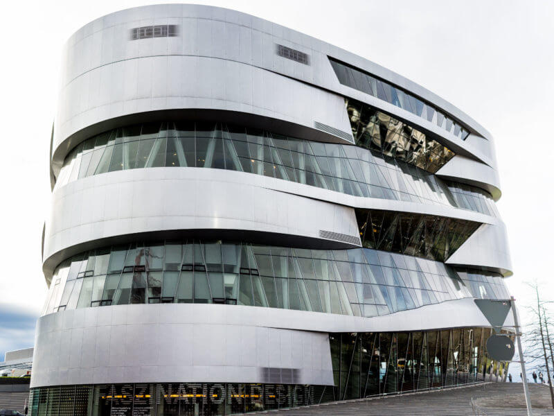 The Mercedes Benz Museum, Stuttgart