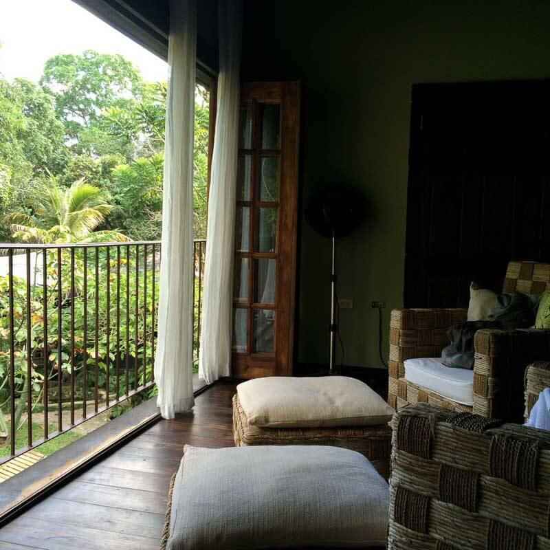 View from Massage Room